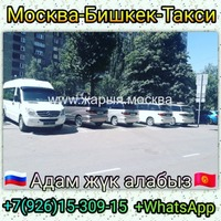 Москва-Бишкек-Ош такси