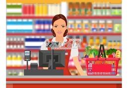 Набираем сотрудников в гипермаркет на кассу